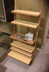 Artist paint supply shelving unit WOOD never used in Houston, Texas