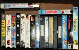 Group of 35 VHS Movies in Leesville, Louisiana