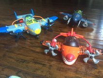 Imaginext Sky Racers Airplanes (3) w/ DVD in Camp Lejeune, North Carolina