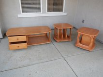 Coffee and end table set in Beale AFB, California