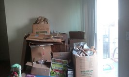 Moving boxes and packing paper in Camp Pendleton, California