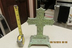 Heavy, Cast Iron Crucifix For Mantel Top - Antique-Look in Houston, Texas