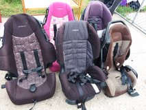 Carseat in Fort Riley, Kansas
