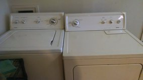 Kenmore matching washer and dryer set in Fort Campbell, Kentucky