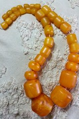 "Vintage Copal Amber Beads Very Large ""Orange Blossom"" in Warner Robins, Georgia"