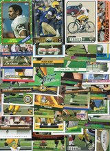 100 Card Lot of GREEN BAY PACKERS Football Cards - 100 Different Players - No Duplicates 1986 - ... in Batavia, Illinois