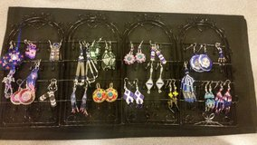 Homemade earrings in Yucca Valley, California