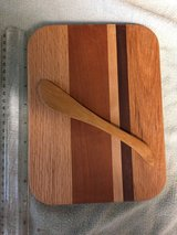 Cheese/Cutting board and Wooden Spreader - NEW in Vacaville, California