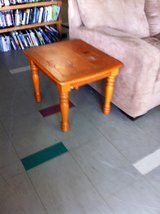 Solid Wood End Table in Fort Polk, Louisiana