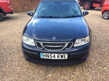 2005 Saab 93 Convertible...immaculate condition, mechanically & cosmetically.. in Lakenheath, UK