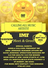 IMF Distribution Meet & Greet for Music Artists in Springfield, Missouri