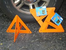 emergency road markers in Naperville, Illinois