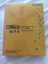 Microsoft Office Mac 2011 home and student (new) in Fort Campbell, Kentucky