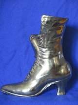 Cast Metal Brass Victorian Ladies Lace-up Boot in Glendale Heights, Illinois