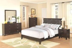 King Size Complete Bed Set with Mattress & Boxframe - monthly payments possible in Aviano, IT