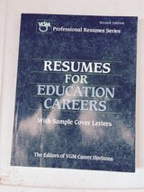 Free with any other purchase - Resumes for Education Careers in Batavia, Illinois