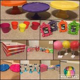 Candy themed birthday party decorations in Conroe, Texas