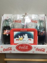 Coca-Cola 1997 Christmas Collectible gift set in Chicago, Illinois