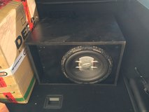 "12"" Pheonix Gold Xenon Sub in Ported Box in Ramstein, Germany"