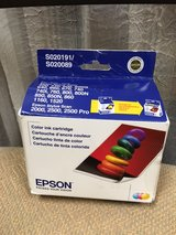 Epson color ink cartridge- S020191 / S020089 in Naperville, Illinois