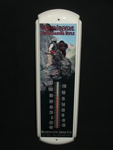 Remington Arms Co. Metal Advertising Thermometer in Naperville, Illinois