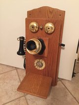 Antique look alike Wall Phone Really works!! in Houston, Texas