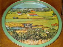"metal tray-van gogh's""landscape w/veg. gardens"" in Chicago, Illinois"