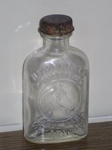 humphrey's  horse medicine bottle w/lid in Naperville, Illinois