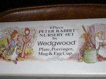 NIB mint beatrix potter/peter rabbit 4pc set-england in Naperville, Illinois