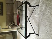 Glass and iron  tables. Square coffee and 2 end tables in Cleveland, Ohio