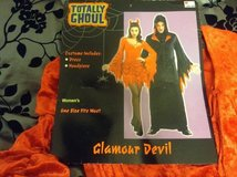 Women's Halloween glamour devil costume in Beaufort, South Carolina