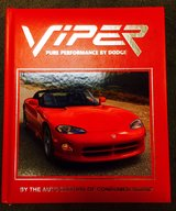 VIPER High Performance By Dodge 80 page hard back book in Okinawa, Japan
