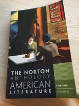 CCCC Norton Anthology of American Literature (Ninth Edition) (Vol. Package 2: Volumes C, D, E) 9... in Camp Lejeune, North Carolina