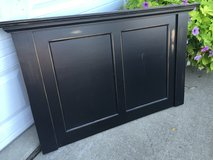 Distressed Black Wood Pieces in Naperville, Illinois