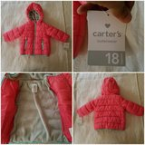 Carter's Fleece-Lined Hooded Puffer Jacket in Glendale Heights, Illinois