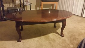 Solid Wood Coffee Table - Cherry Finish in Kingwood, Texas