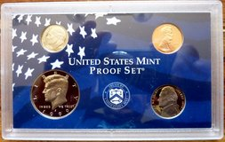 1999 S US Mint 9 Coin Proof Set in Baumholder, GE