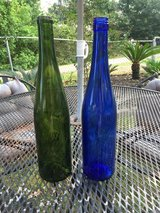 Wine bottles in Conroe, Texas