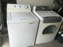 Washer and Dryer in Dover AFB, Delaware