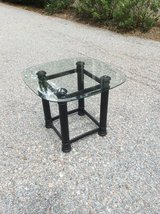 Beveled Edge Glass Top Table in Beaufort, South Carolina