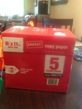 Staples copy paper 8.5 x 11 in Beaufort, South Carolina
