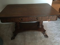 Antique Library Table in Beaufort, South Carolina