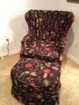 Channel Back Chair and Ottoman in Baytown, Texas