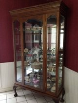 Curio Display Cabinet in Baytown, Texas