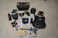 Paintball marker and accessories lot in Fort Campbell, Kentucky