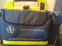 CPR AED WITH BATTERY AND CARRY CASE. in Hemet, California