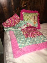 Baby Girl matching blanket, bed skirt and pillow in Quantico, Virginia