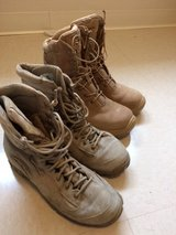 tan combat boot in Schofield Barracks, Hawaii
