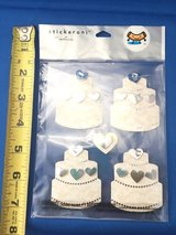 Wedding cake stickers (multiple sets available) in Vacaville, California