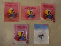 five basic piano books in Tomball, Texas